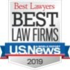 best law firms by US News 2019